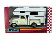 Машинка Kinsmart КТ5505 1955 Chevy Stepside Pickup (Truck Camper)