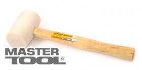 MASTERTOOL Киянка резиновая с деревянной ручкой белая Арт.: 02-0311