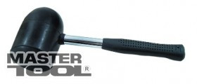 MASTERTOOL Киянка резиновая с металлической ручкой черная Арт.: 02-1302
