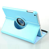 Кожаный чехол-книжка TTX (360 градусов) для Apple IPAD AIR            Голубой
