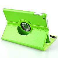 Кожаный чехол-книжка TTX (360 градусов) для Apple IPAD AIR            Зеленый