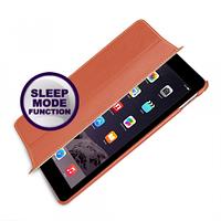 Кожаный чехол (книжка) TETDED для Apple iPad Air 2            Оранжевый / Orange