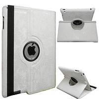 Кожаный чехол-книжка TTX (Flower) (360 градусов) для Apple iPad Air 2            Белый