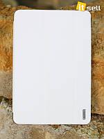 Кожаный чехол (книжка) Remax Jean Series для Apple IPAD mini (RETINA)/Apple IPAD mini 3            Белый