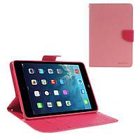 Чехол (книжка) Mercury Fancy Diary series для iPad Mini / iPad Mini Retina/ iPad mini 3            Розовый / Малиновый