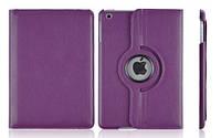 Кожаный чехол-книжка TTX (360 градусов) для Apple iPad mini 4            Сиреневый