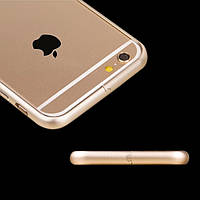 Бампер Metal Case Gold for iPhone 6,6S