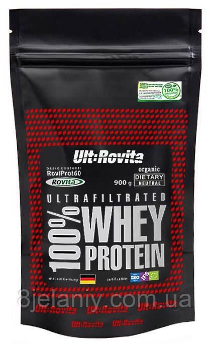 Концентрат сывороточного протеина 82% Ult:Rovita  900 g