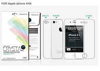 Защитная пленка Nillkin Crystal (на обе стороны) для Apple iPhone 4/4S(+ пленка на камеру)            Анти-отпечатки