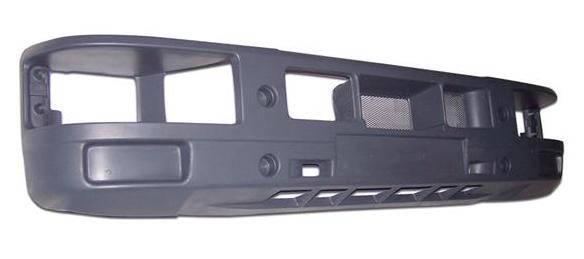 Бампер передний (без противотуманок) EuroCargo, 5510-00-0008P, фото 2