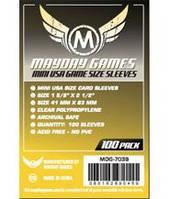 Протекторы (кармашки) Mayday Mini USA (41 мм х 63 мм)  (Mini USA sleeves (41 мм х 63 мм))