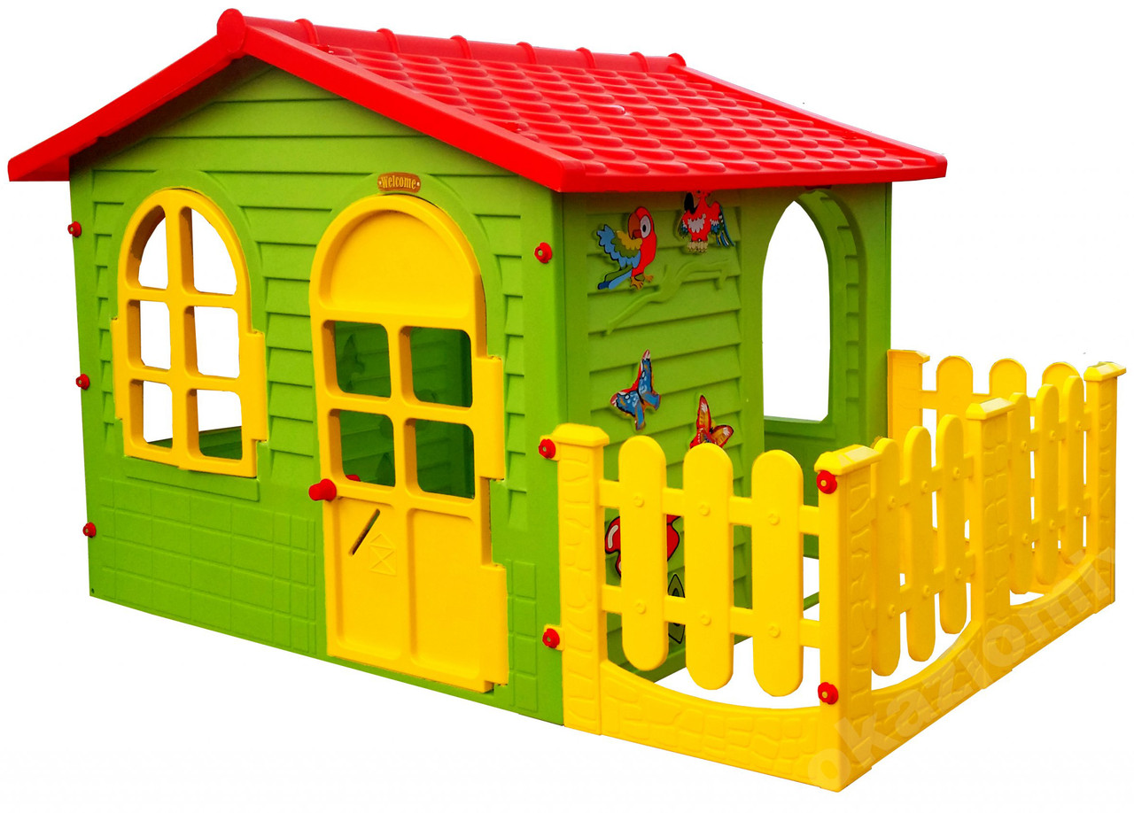 Детский игровой домик Garden House с террасой для детей складной
