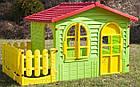 Детский игровой домик Garden House с террасой для детей складной, фото 3