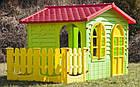 Детский игровой домик Garden House с террасой для детей складной, фото 4