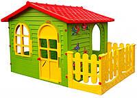 Детский игровой домик Garden House с террасой для детей складной, фото 1
