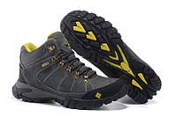 Мужские зимние ботинки на меху COLUMBIA FD_5005 в наличии, серые. РАЗМЕР 41-43
