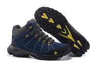 Мужские зимние ботинки на меху COLUMBIA FD_5005 в наличии, синие. РАЗМЕР 41-44