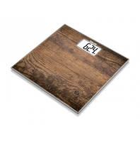 Весы напольные стеклянные Beurer GS 203 Wood