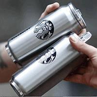 Термобанка Starbucks 500 мл металлическая, фото 1