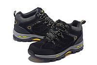 Мужские зимние ботинки кроссовки COLUMBIA m1678 в наличии, чёрные. РАЗМЕР 42, 44