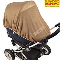 Универсальная москитная сетка для коляски (Темно-бежевый), Kinder Comfort