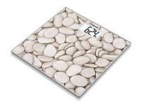 Весы напольные стеклянные Beurer GS 203 Stone