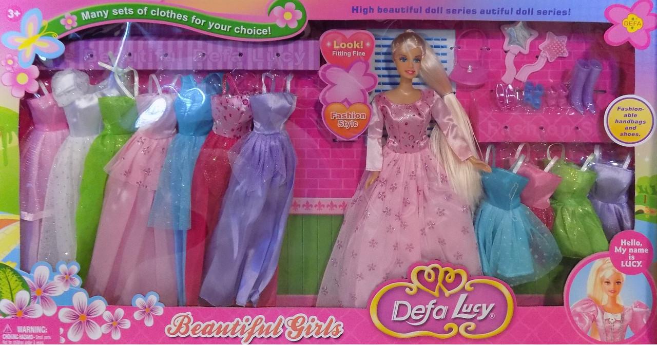 Кукла гардероб Defa Lucy 8027