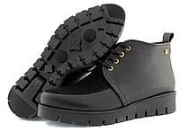 Женские зимние ботинки ручной работы из натуральных Итальянских материалов