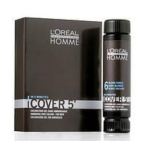 Безаммиачный окрашивающий гель для волос 3x50ml - L'Oreal Professionnel  Cover 5 №6 (Темный блондин)