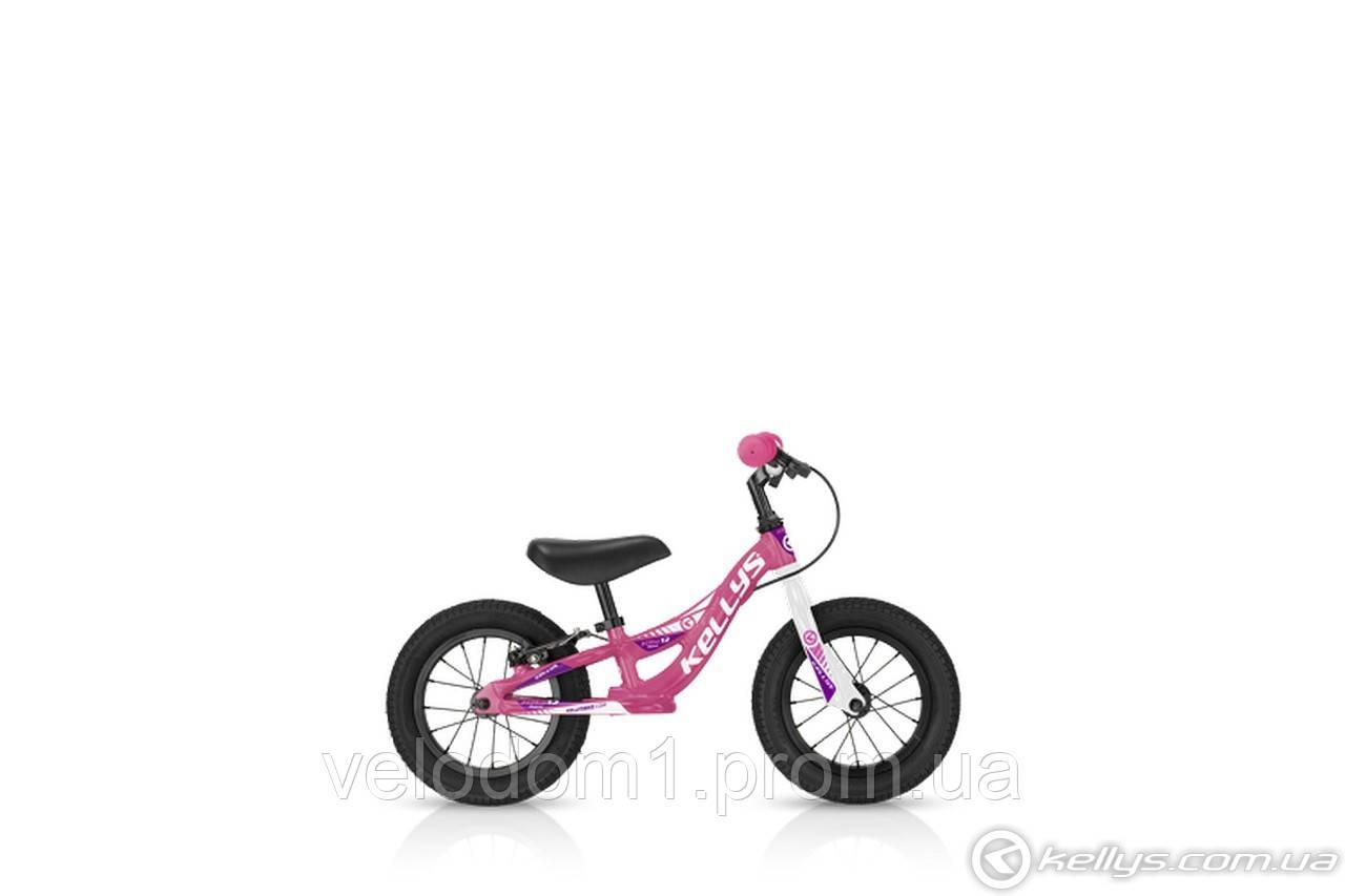 Беговел KLS Kite 12 Race (розовый , красный)