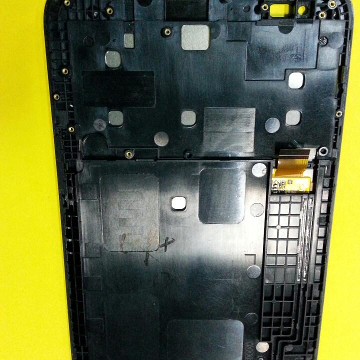 Дисплей для планшета Lenovo IdeaTab A1000 A1000F A1000L A2107A A5000 в рамці оригінал б/у