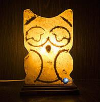 Соляная лампа Совушка 3кг