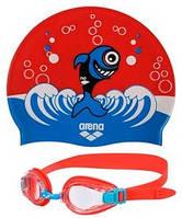 Набор для плавания Arena AWT Multi Set Blue-Red