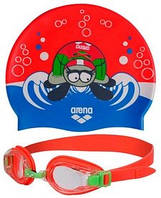 Набор для плавания Arena AWT Multi Set Red-Green