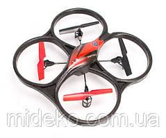 Квадрокоптер р/у 2.4GHz WL Toys V606 Cyclone Mini (красный)