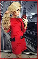 """Платье """"Bantiki"""" красный, фото 1"""