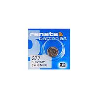 Часовая батарейка Renata 377 / SR 626 SW