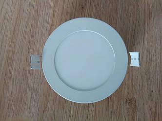 Светильник врезной LED  Downlight  6W 4200K  диаметр 120 мм  круглый  алюминиевый корпус