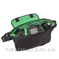 Сумка для камеры T-C8023 черный с зеленым