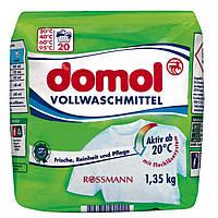 Domol Vollwaschmittel Pulver Стиральный порошок универсал 1,35 кг 20 стирок (Германия)