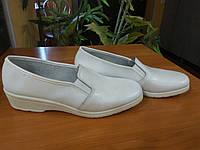 Туфли рабочие женские (белые) , фото 1