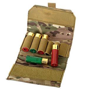 Патронташ для 6-ти патронов 12 кал. - мультикам   M51613002-CP, фото 2