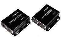 Устройство для передачи HDMI по Витой паре с IR до 50 метров (MT-ED05I
