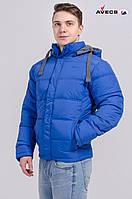 Куртка мужская Avecs AV-7906-3 Blue Авекс Размеры XXL (52) 3XL (54)