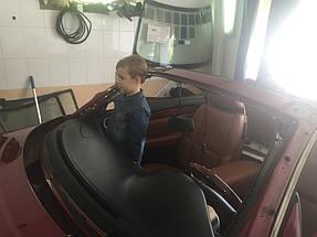 Замена лобового стекла и тонировка LEXUS кабриолет. 3
