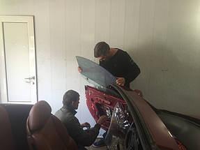 Замена лобового стекла и тонировка LEXUS кабриолет. 4