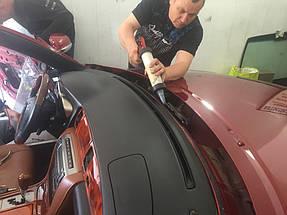 Замена лобового стекла и тонировка LEXUS кабриолет. 6