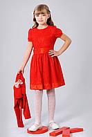 Платье для девочки с болеро 363-1