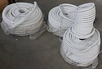 Асбестовый шнур плетеный квадратного сечения 10 х 10 мм
