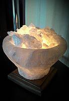 Соляная лампа Чаша огня 4кг